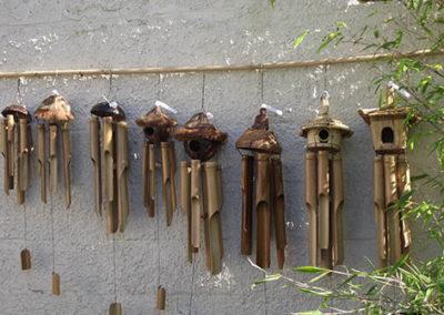 Lil'o bambous - Carillons en bambous