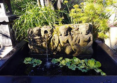 Lil'o bambous - Fontaine en relief indonésien