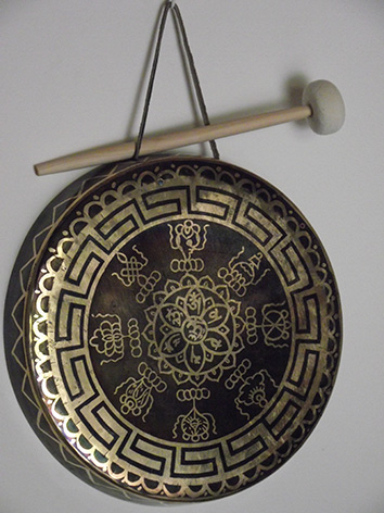 Lil'o bambous - Gong thibetin