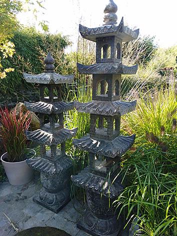 Lil'o bambous - Lanternes japonaises à 5 toits