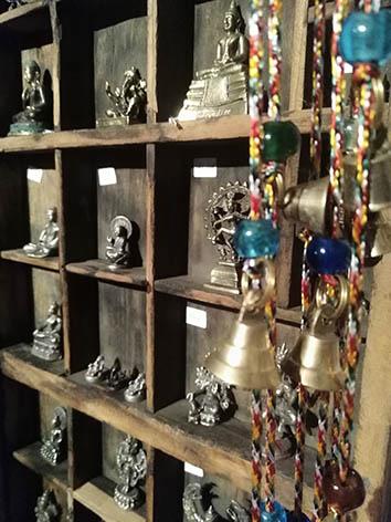 Lil'o bambous - Minis figurines indiennes en métal