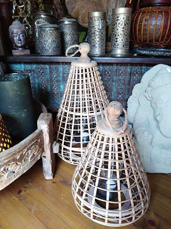 Lil'o bambous - Photophore en bambous