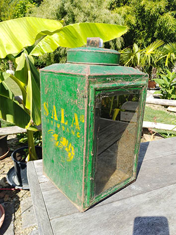 Lil'o bambous - Photophore thaïllandais en métal