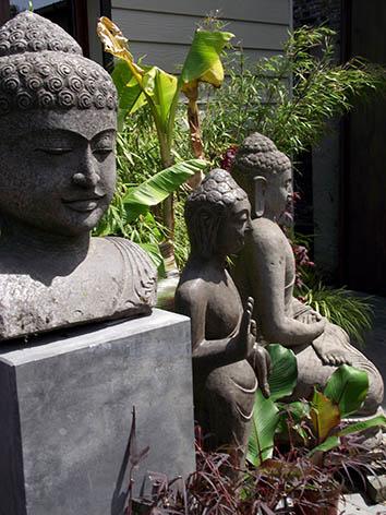 Lil'o bambous - Quelques Bouddhas