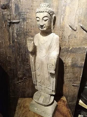 Lil'o bambous - Statuette de Bouddha
