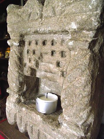 Lil'o bambous - Temple indien en pierre