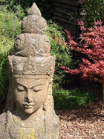 Lil'o bambous - ambiance du jardin - Notre mascotte